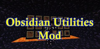 Obsidian Utilities Mod for Minecraft