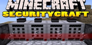 Security Craft Mod for Minecraft 1.8/1.7.10