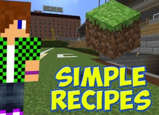 Simple Recipes Mod for Minecraft