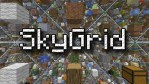 SkyGrid Survival Map for Minecraft 1.12.2