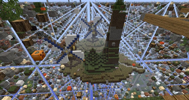SkyGrid Survival Map Minecraft