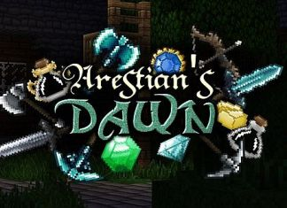 The Arestian's Dawn Resource Pack for Minecraft 1.8.3