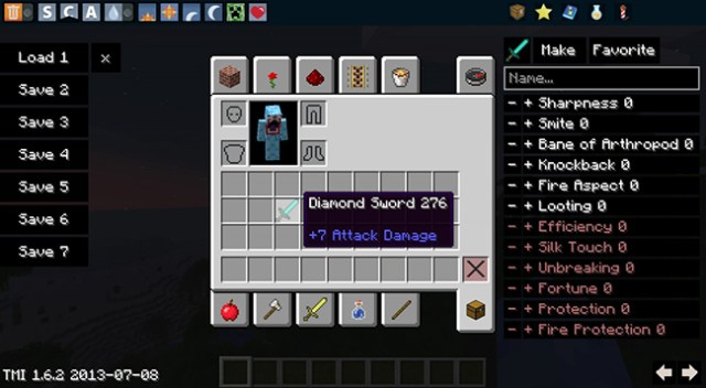 TooManyItems Mod for Minecraft 1.8.3