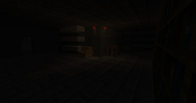 Area 51 Horror Map for Minecraft