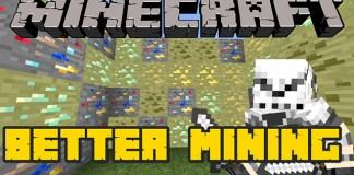 Better Mining mod for Minecraft