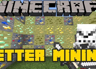 Better Mining mod for Minecraft