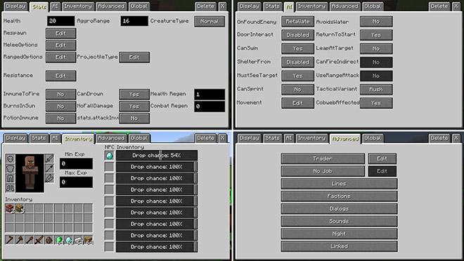 Custom NPCs Mod
