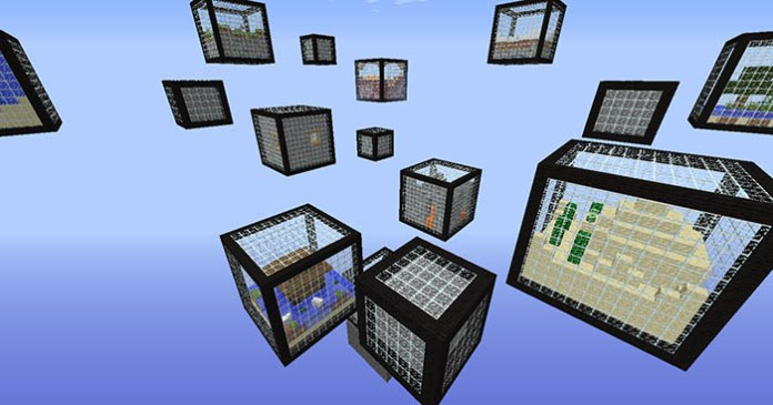 Micro Cubes Map