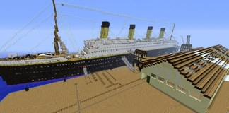 Titanic Map Minecraft