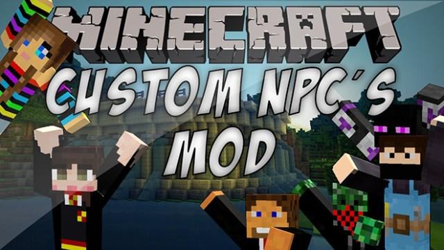 Custom NPCs Mod for Minecraft