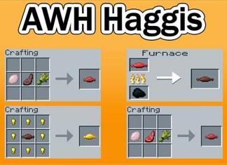 AWH Haggis Mod for Minecraft