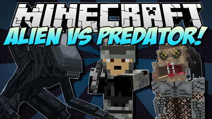 Aliens vs Predators Mod for Minecraft