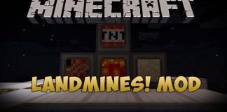 Landmines Mod for Minecraft