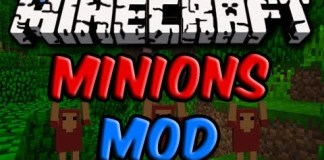 Minions Mod for Minecraft