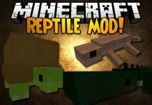 Reptile Mod for Minecraft