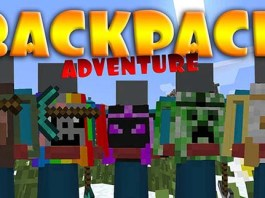 Adventure Backpack Mod for Minecraft