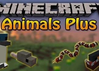 Animals Plus Mod for Minecraft