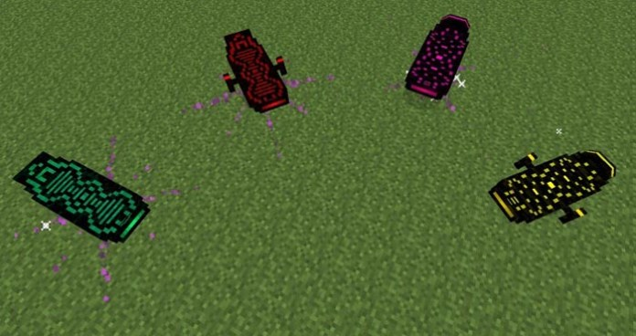 Arkif's Hoverboard Mod for Minecraft