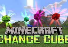 Chance Cubes Mod for Minecraft