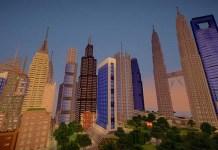 Skyscraper City Map for Minecraft