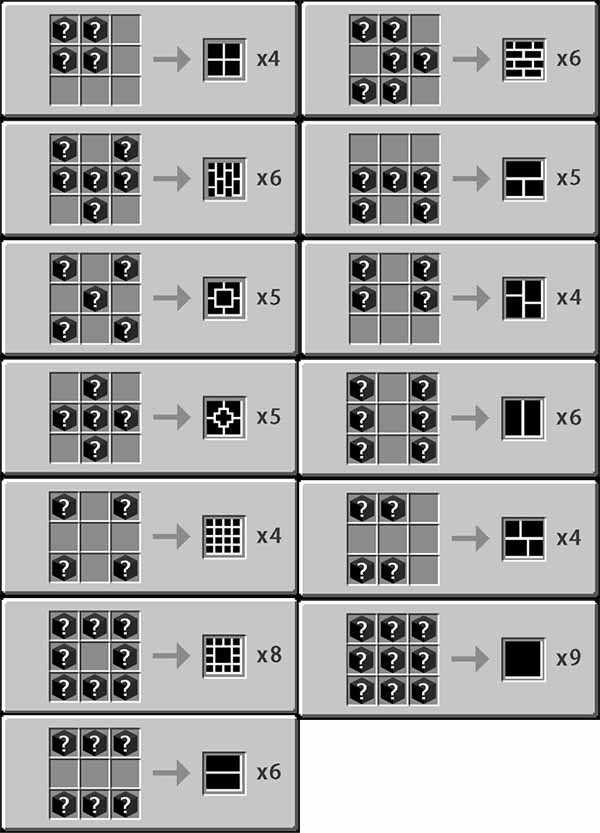 The Additional Blocks Mod for Minecraft