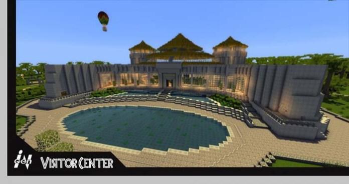 Jurassic Park 2.0 Map for Minecraft