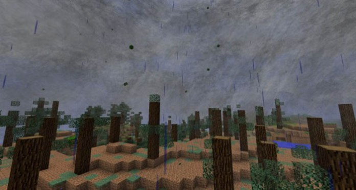 Local Weather Mod for Minecraft