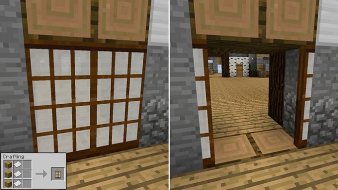 Malisis Doors Mod for Minecraft
