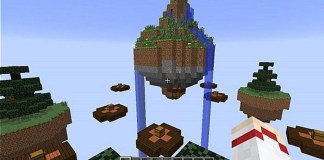 Skywars Minigame Map for Minecraft