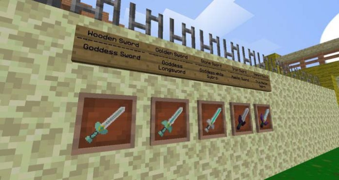 Skyward Sword Resource Pack for Minecraft
