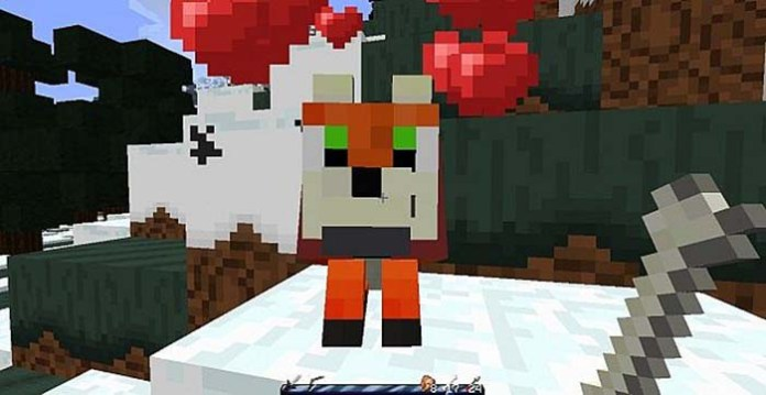 Fox Craft Resource Pack for Minecraft 1