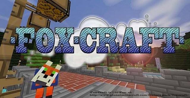 Fox Craft Resource Pack for Minecraft
