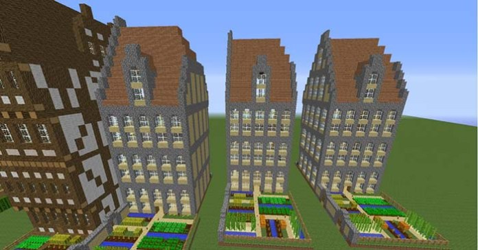 Instant Massive Structures Mod for Minecraft