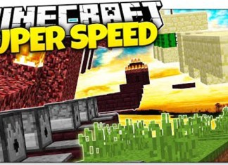 Super Speed Run Parkour Map for Minecraft