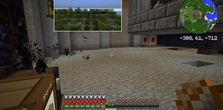 Picture in Picture Mod for Minecraft