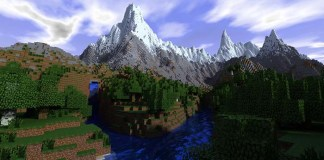 The Forgotten Land Map for Minecraft