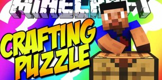Crafting Puzzle Map for Minecraft