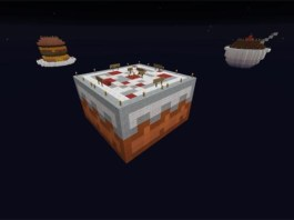Sky Dessert Map for Minecraft