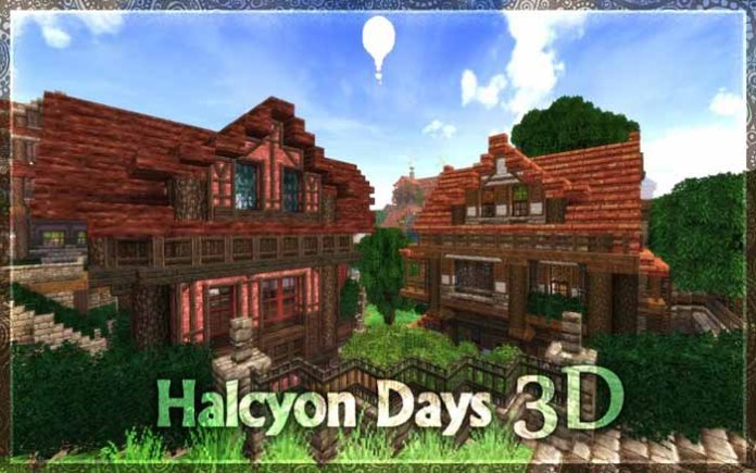 Halcyon Days Resource Pack for Minecraft 1.8.9/1.9