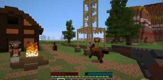 Wild West Warrior Map for Minecraft 1.8.9/1.9