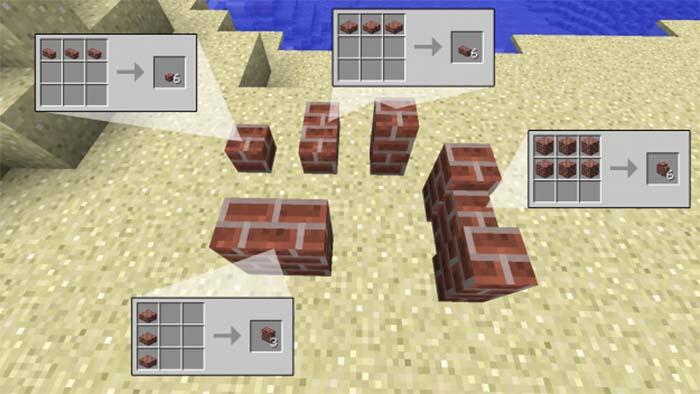 Building Bricks Mod for Minecraft