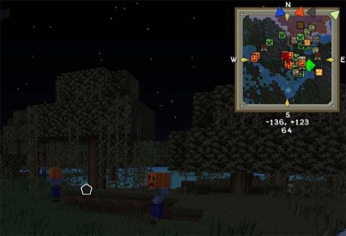 VoxelMap Mod for Minecraft