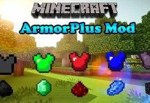 ArmorPlus Mod for Minecraft 1.9/1.8.9