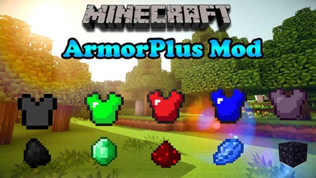 ArmorPlus Mod for Minecraft 1.9/1.8.9