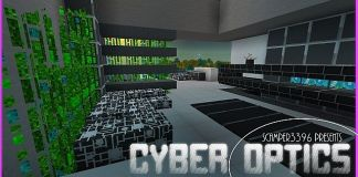 Cyber Optics Resource Pack for Minecraft 1.9/1.8