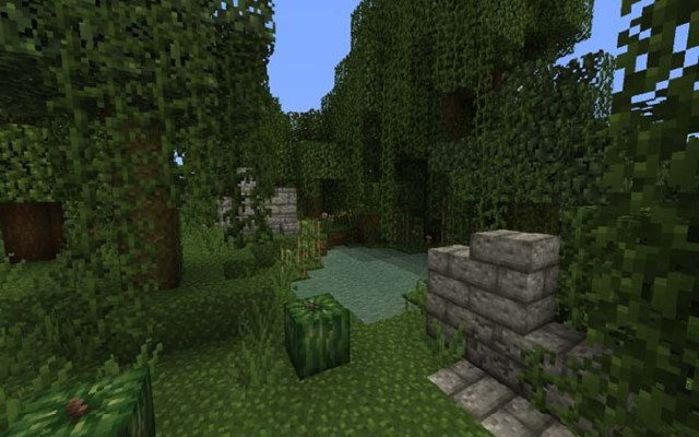 Jungle Ruins Resource Pack for Minecraft 1.9.2
