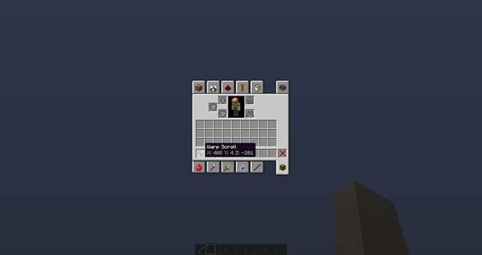 Warp Scrolls Mod for Minecraft 1.10.2/1.9