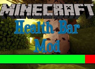 Health Bar Mod for Minecraft