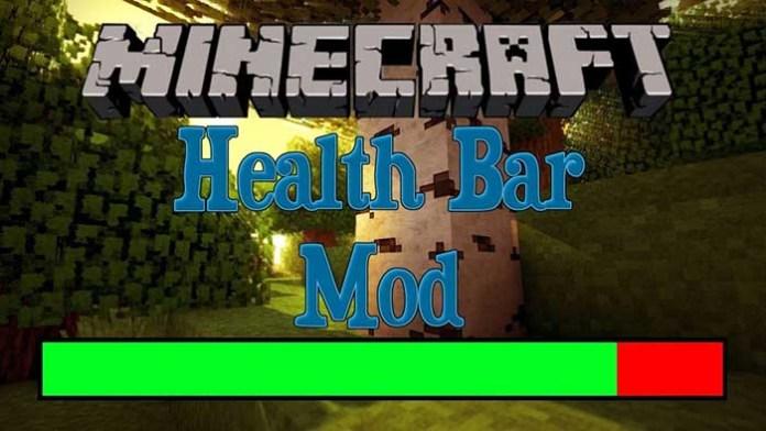Health Bar Mod for Minecraft
