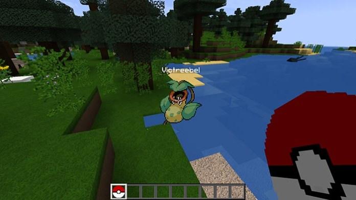 PokeMod Go Mod for Minecraft 1.10.2